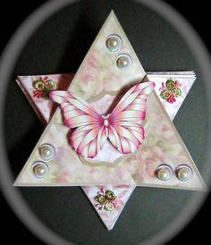 triangel star card