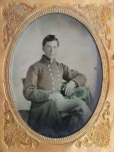 18 year old James E. Morrison of Buncombe County, North Carolina. James mustered as a private in Co. A of the 25th North Carolina Infantry on July 30th, 1861. He would be promoted to corporal on January 30th, 1863 but was later reduced in rank 7 months later. By March of 1864 James had his fill of military service. He crossed enemy lines and handed himself over to the Federals. He would be confined for the next year at Fort Monroe in Virginia before signing the Oath of Allegiance on March…