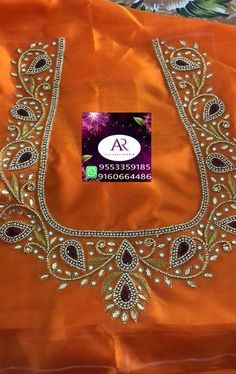 vijaya Kumaris # 370 Media statistics and analysis - embroidery Wedding Saree Blouse Designs, Pattu Saree Blouse Designs, Blouse Designs Silk, Blouse Neck Designs, Designer Blouse Patterns, Hand Work Blouse Design, Kids Blouse Designs, Simple Blouse Designs, Stylish Blouse Design
