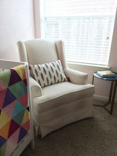 Neutral nursing nook