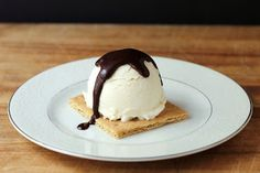Cookistry: Marshmallow Ice Cream! And a Frozen S'more!