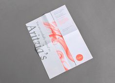Fall/Winter Aritzia Fashion Show Branding by Maggie Chok, via Behance