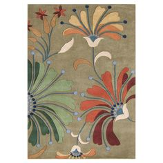 Found it at Wayfair - Mulloy Hand-Tufted Green Area Rug