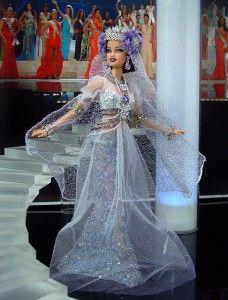 Miss Tajikistan 2013 barbie doll