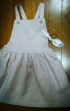 Kids apron skirt & hair accessory