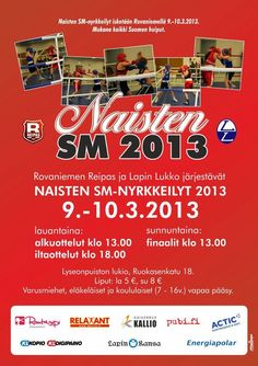 Womens national boxing competition, Rovaniemi, Finland