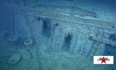 Titanic well-deck | The Titanic Wreckage And Recovered Artifacts