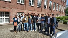 """ICPF Med students of Summer Semester 2016 visited Hamburg with IAS.  They enjoyed their stay in an interesting city with a big and many- sided company structure.   The visit of """"Universitätsklinikum Eppendorf"""", a well-known hospital in Hamburg, has definitely to be highlighted.  Every week IAS offers additional program to the German language coursework for ICPF Med and ICPF Tech students. Students get well prepared for a prosperous future!  International Academy of Students, IAS"""