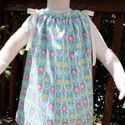 """""""Easiest Pillowcase Dress Ever"""" She doesn't actually use a pillowcase, but it shouldn't be too hard to modify."""