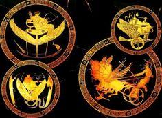 Τα Φτερωτά Άρματα των Ουράνιων Ολύμπιων Θεών | The Secret Real Truth | Bloglovin'