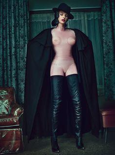 Fall Fashion: Linda Evangelista and Steven Klein's dark fantasy