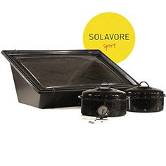 Solavore Sport Solar Oven Get Cooking! Bundle - Includes 2 GraniteWare Cooking Pots, Recipe Guide, Food Thermometer, and Water Pasteurization Tool Review