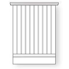 beadboard wainscoting: Thin tongue-and-groove strips, popular in Queen Anne–style homes from the late 1800s, dress up informal spaces, such as bathrooms, stairways, and kitchens. Gets its name from the round bead along its edge that disguises the joint between strips.