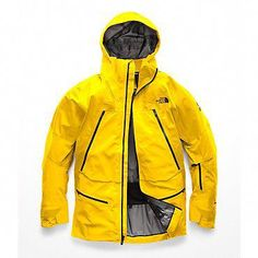 The North Face Jacket - North Face Mens Gotham Jacket Iii Hooded Raincoat, North Face Rain Jacket, Rain Jacket Women, Raincoats For Women, Jackets For Women, Concept Clothing, Yellow Raincoat, Moda Masculina, Outfits