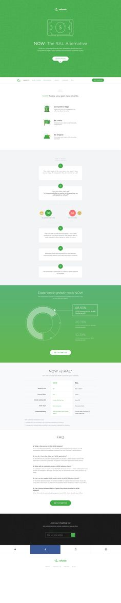 Nice colors and style. Good layout. Landing page by Budi Tanrim. Great for a tech company