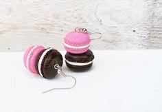 Kolczyki+francuskie+makaroniki+w+Design+By+Fiubździu+na+DaWanda.com