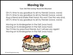 Preschool Graduation Songs - Free Printables & More Ideas