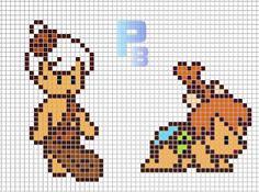 Patrones Beads: Picapiedra