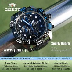 Check out the new arrival of orient sporty quartz watch...  #orientwatch #orientwatches #wristwatch #CHRONOGRAPH #SPORT #QUARTZ #luxury #fashion #watch #watches #orient #online #juma #jumajordan #jumastore #amman #jordan #jo #الأردن #ساعات #اورينت  https://goo.gl/eNs6RS