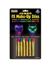 Neon Black Light Makeup Sticks ( For the neon glam up station, each girl gets to deck out w/ neon stuff then when the lights are hit off the room lights up with energy! Black Light Makeup, Neon Face Paint, Glow In Dark Party, Neon Birthday, Birthday Ideas, Neon Accessories, Halloween Supplies, Blacklight Party, Neon Party