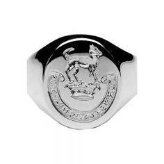 Ladies Hand Seal Engraved Family Coat of Arms Ring Sterling Silver: grams grams 16 grams Width: Height: Irish Wedding Rings, Irish Rings, Celtic Rings, Claddagh Rings, Irish Coat Of Arms, Family Crest Rings, Irish Jewelry, Jewelry Website, Irish Celtic
