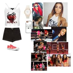 """""""Debut mat"""" by miriam3502 ❤ liked on Polyvore featuring Topshop, Zara, Converse and Casetify"""
