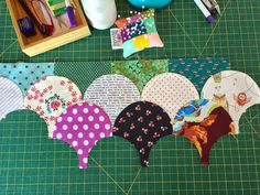 Clamshell Quilt and info about she's putting it together | Maryse Makes Things