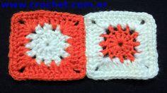 Unión del Motivo N° 11 en tejido crochet paso a paso.
