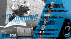 Schedule wallpaper for the Carolina Panthers Regular Season, 2016. All times CET. Made by #tgersdiy