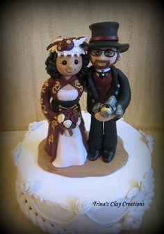Victorian Steampunk Wedding Inspiration