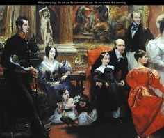 The Grosvenor Family - Charles Robert Leslie - WikiGallery.org, the largest gallery in the world