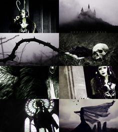"""""""Now go with the curse, and serve me well...""""   Ladies of Disney→ Maleficent"""