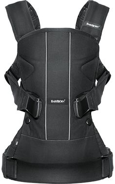 Baby Carrier One • Black • Cotton Mix