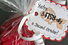 "The Best of Teacher Entrepreneurs: FREE MISC. LESSON - ""You're O-Fish-Ally a ______! Student Gift Tags"""