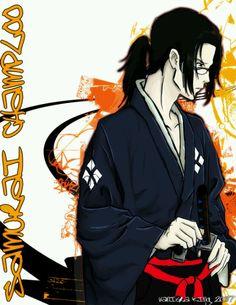 Samurai Champloo Jin--he's my favorite character on the show.