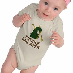 Future Bagpiper Onesie. Need this for Gordon!