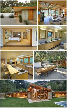 Max Weinberg's house in the Hollywood Hills. I like Modern when it is warm and comfy, too.