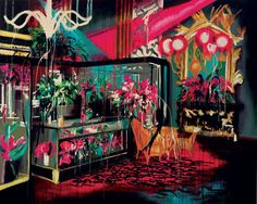 Awesome paintings by Rosson Crow. I want one... or two ;)
