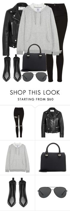 """Untitled #2816"" by elenaday ❤ liked on Polyvore featuring Topshop, Acne Studios, Zoe Karssen, Victoria Beckham and Michael Kors"