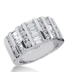 New day, new creations. This White Gold, or the metal of your choice diamond anniversary ring is fabulously priced, Only at Wedding Bands Wholesale. Diamond Anniversary Rings, Diamond Wedding Rings, Wedding Bands, Beautiful Wedding Rings, Jewelery, Folk, White Gold, Colors, Metal