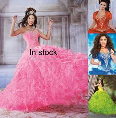 Gowns Dress Detachable Quinceanera Gowns Two Pieces Organza Ball Gown With Detachable Ruffled Skirt,Sweetheart Pointed Waistline,Lace Up Gowns For Party From Gonewithwind, $167.54| Dhgate.Com