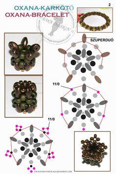 Oxana Bracelet pattern 2