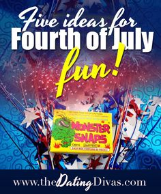 From ICE blocking to FIREworks, here are some fun ideas perfect for the 4th of July or just for some Summer fun! www.TheDatingDivas.com #Summer #4thofJuly #thedatingdivas