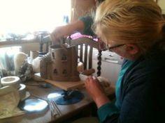 ESCartists 2015 - Christina Stevens: Artist based in working mostly in ceramics