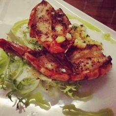 Shrimp at Osteria Pronto - Preview of Devour Downtown Winterfest via @Visit Indy