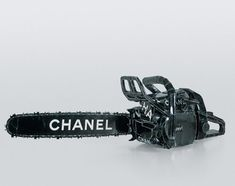 Tom Sachs. Chanel Chain Saw, 1996, cardboard, thermal adhesive