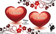 Name in the Heart Valentines Day Date, When You Love, Messages, Bellisima, Diana, Photos, Hearts, Facebook, Happy Hour