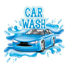 Illustration about Vector sign isolated on white background. Illustration of clean, mechanical, concept - 41200642 Car Wash Posters, Pastor Appreciation Day, Car Wash Sign, Car Wash Services, Pressure Washing, Free Cars, Diy Games, Car Detailing, Unique Colors