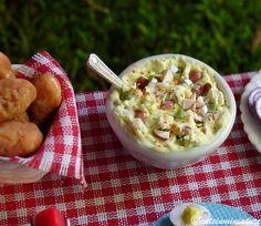 miniature potato salad