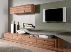 Modern And Contemporary Wall Unit Design | AzMyArch Crappy site, really pretty wall unit.